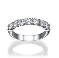 Picture of 1.05 Total Carat Classic Wedding Round Diamond Ring