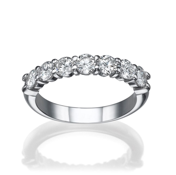 Picture of 0.56 Total Carat Classic Wedding Round Diamond Ring