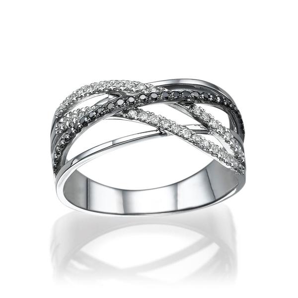 Picture of 0.35 Total Carat Designer Wedding Round Diamond Ring