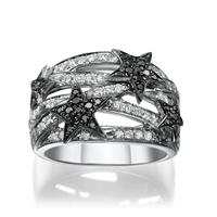 Picture of 0.80 Total Carat Designer Wedding Round Diamond Ring