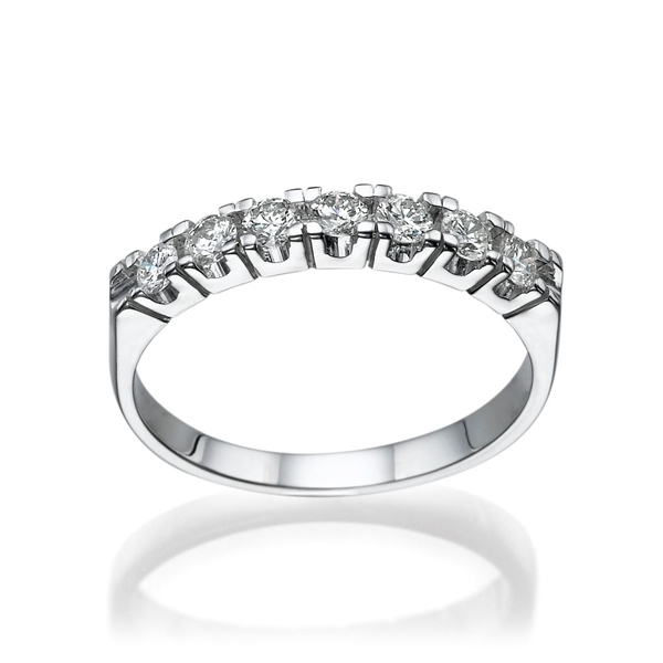Picture of 0.45 Total Carat Classic Wedding Round Diamond Ring