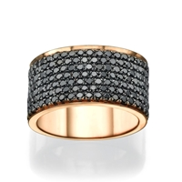 Picture of 1.90 Total Carat Designer Wedding Round Diamond Ring
