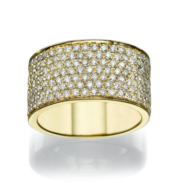 Picture of 1.75 Total Carat Designer Wedding Round Diamond Ring