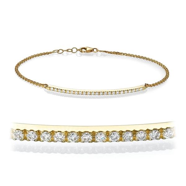 Picture of 0.25 Total Carat Designer Round Diamond Bracelet