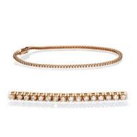 Picture of 1.00 Total Carat Tennis Round Diamond Bracelet