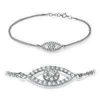 Picture of 0.55 Total Carat Designer Round Diamond Bracelet