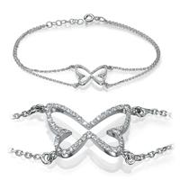Picture of 0.20 Total Carat Designer Round Diamond Bracelet