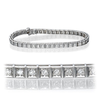 Picture of 2.00 Total Carat Tennis Round Diamond Bracelet