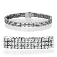 Picture of 4.50 Total Carat Tennis Round Diamond Bracelet