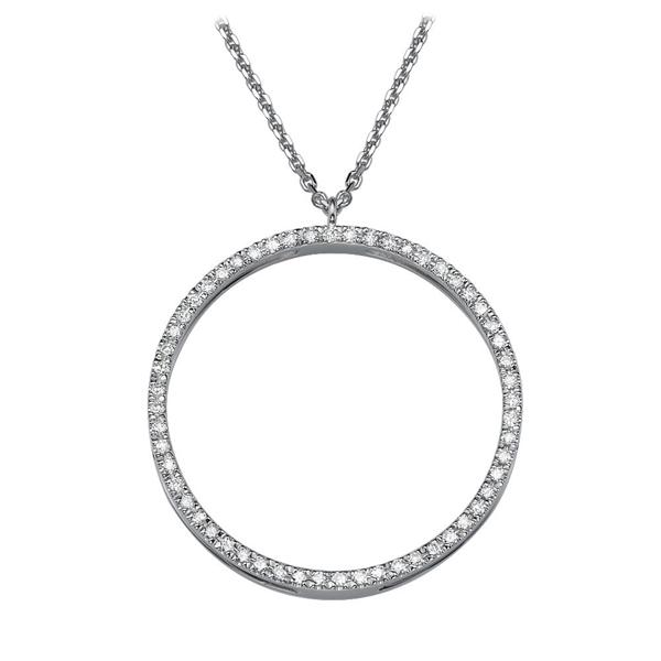 Picture of 0.28 Total Carat Classic Round Diamond Pendant