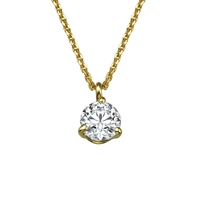 Picture of 0.20 Total Carat Solitaire Round Diamond Pendant
