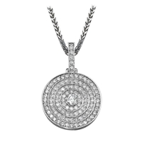 Picture of 1.14 Total Carat Classic Round Diamond Pendant