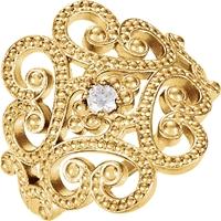 Picture of 0.08 Total Carat Designer Wedding Round Diamond Ring
