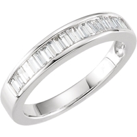 Picture of 0.50 Total Carat Anniversary Wedding Baguette Diamond Ring