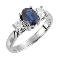 Picture of 0.38 Total Carat Designer Wedding Round Diamond Ring