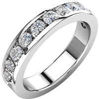 Picture of 1.13 Total Carat Anniversary Wedding Round Diamond Ring