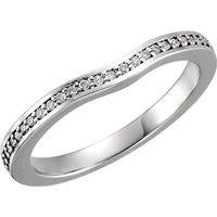 Picture of 0.17 Total Carat Anniversary Wedding Round Diamond Ring