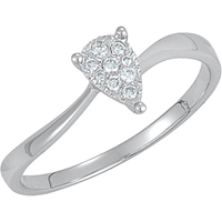 Picture of 0.07 Total Carat Designer Wedding Round Diamond Ring