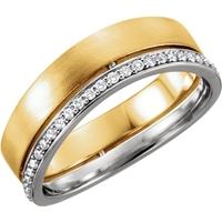 Picture of 0.33 Total Carat Designer Round Diamond Band