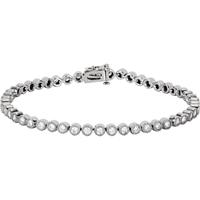 Bild von 2.05 Gesamtkarat Tennis-Diamantarmbänder mit Runddiamant