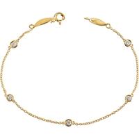 Picture of 0.33 Total Carat Designer Round Diamond Bracelet