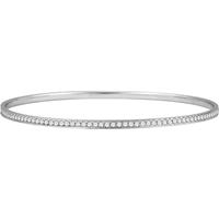 Bild von 1.46 Gesamtkarat Armreif-Diamantarmbänder mit Runddiamant