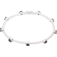 Bild von 0.75 Gesamtkarat Linie-Diamantarmbänder mit Runddiamant