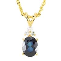 Picture of 0.10 Total Carat Designer Round Diamond Necklace