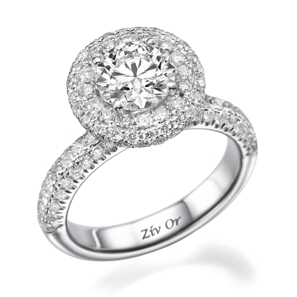 Picture of 5.00 Total Carat Masterworks Engagement Round Diamond Ring