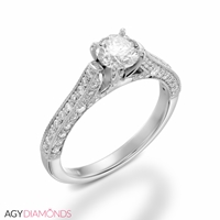Picture of 1.70 Total Carat Masterworks Engagement Round Diamond Ring
